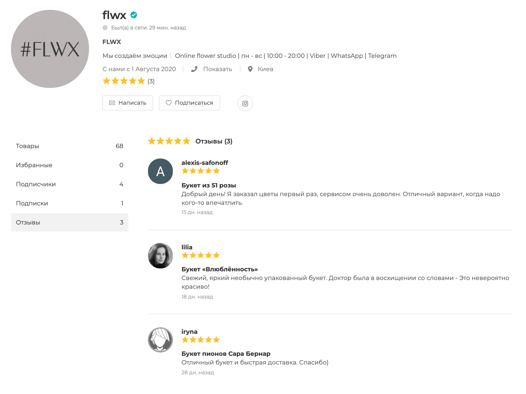 buket reviews