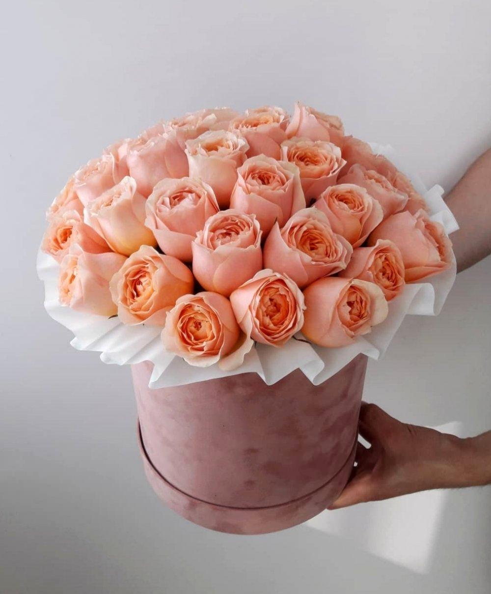 Букет с пионовидной розой Gravity