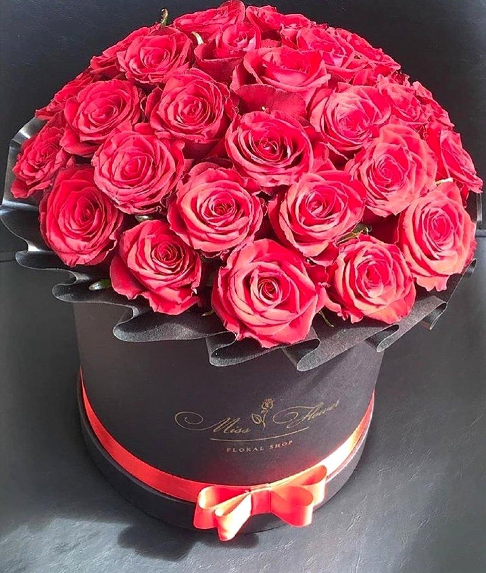 Букет с 39 красной розой