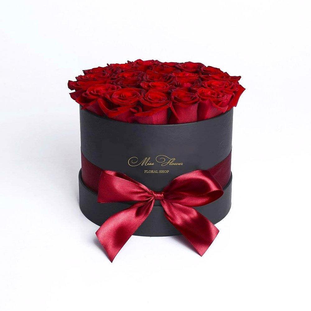Букет с 19 красными розами Престиж