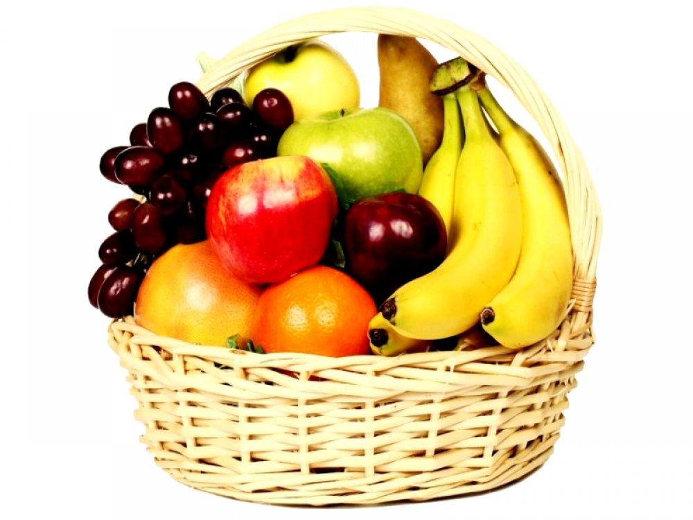 Корзина фруктов сезонная
