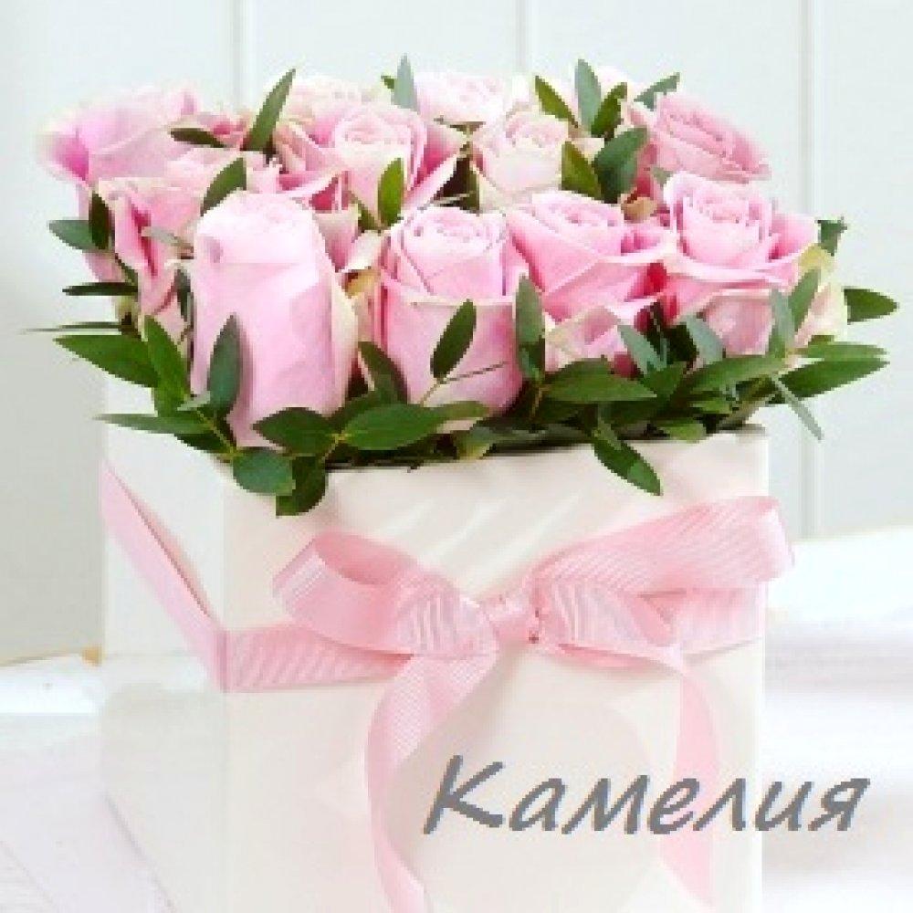 Цветы в коробке №11