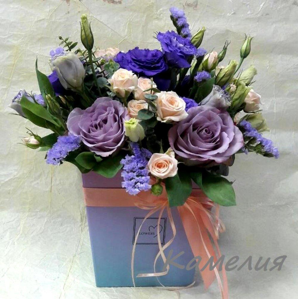 Цветы в коробке №46