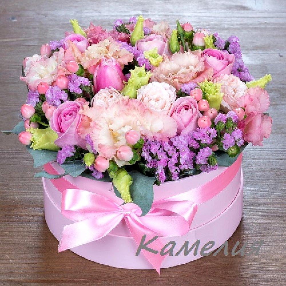 Цветы в коробке №60