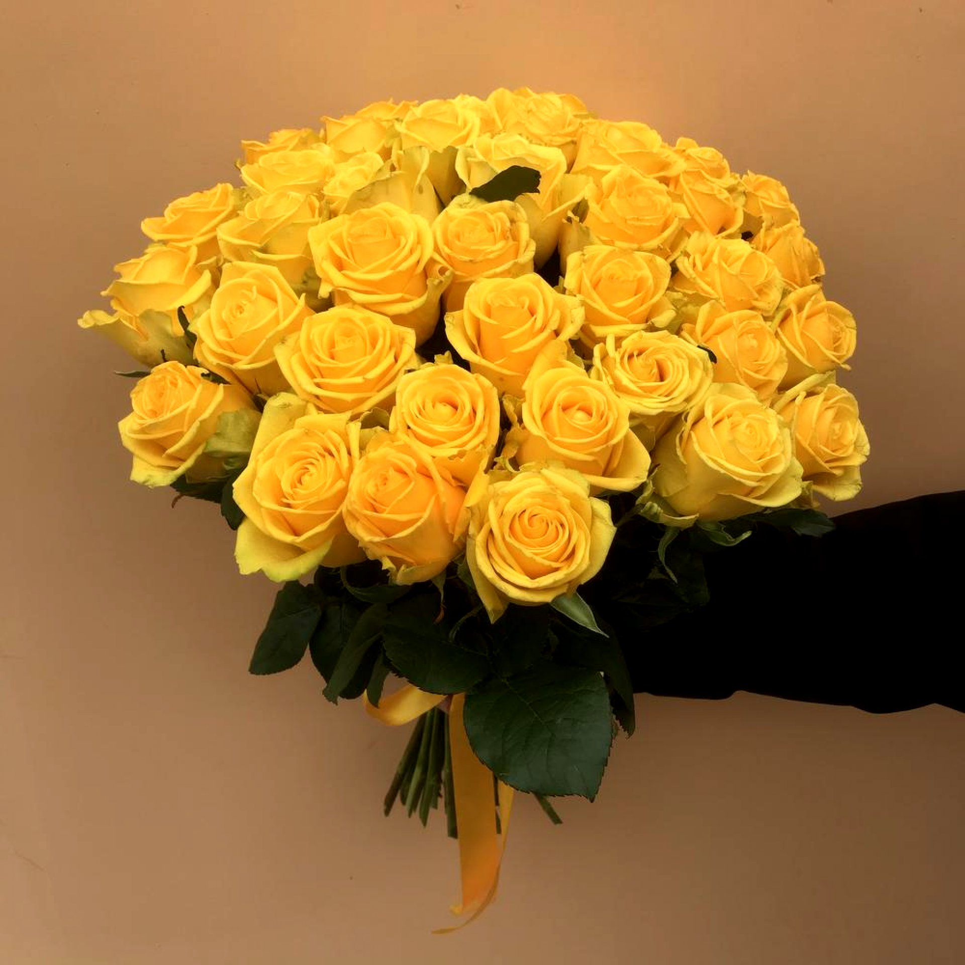 Букет желтых роз (51 шт)