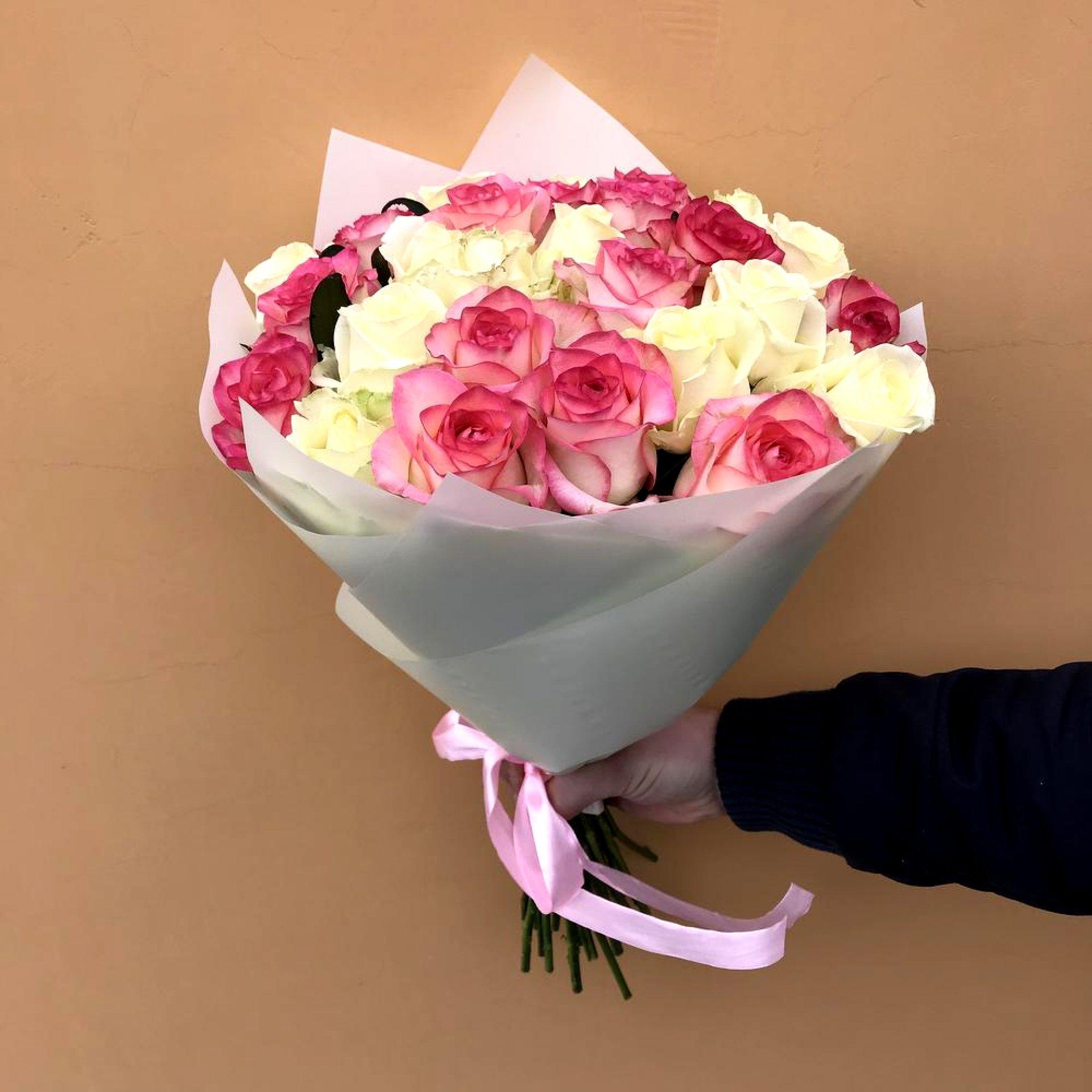 """Букет из роз """"Ты прекрасна"""""""