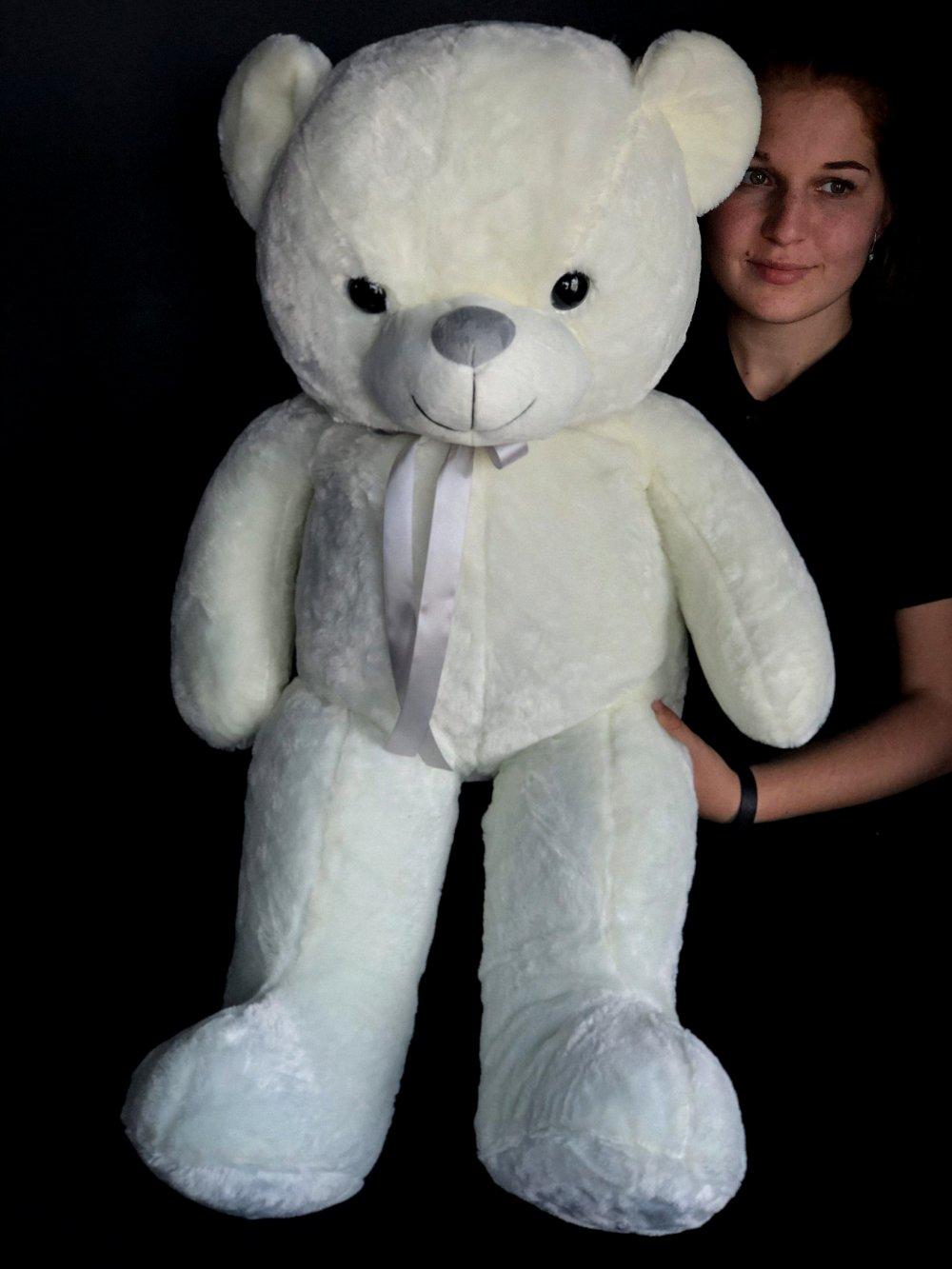 """Мягкая игрушка """"Белый Мишка"""""""
