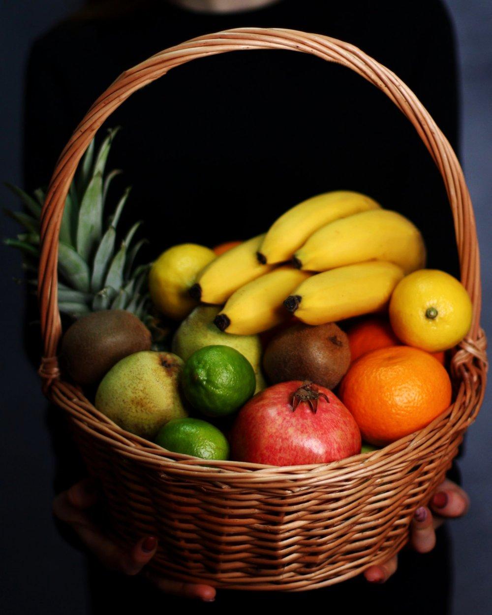 "Корзина с фруктами ""Тропикана"""