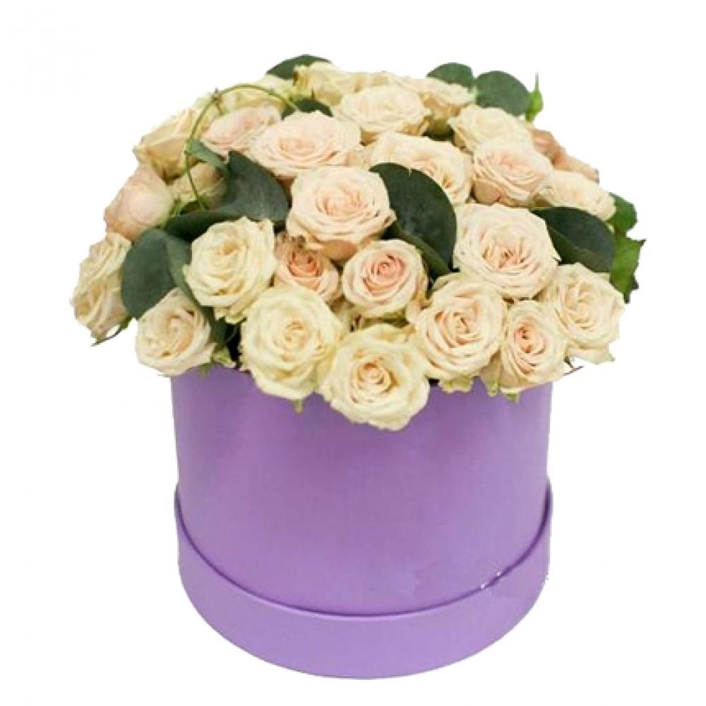 Цветы в коробке. Композиция № 26