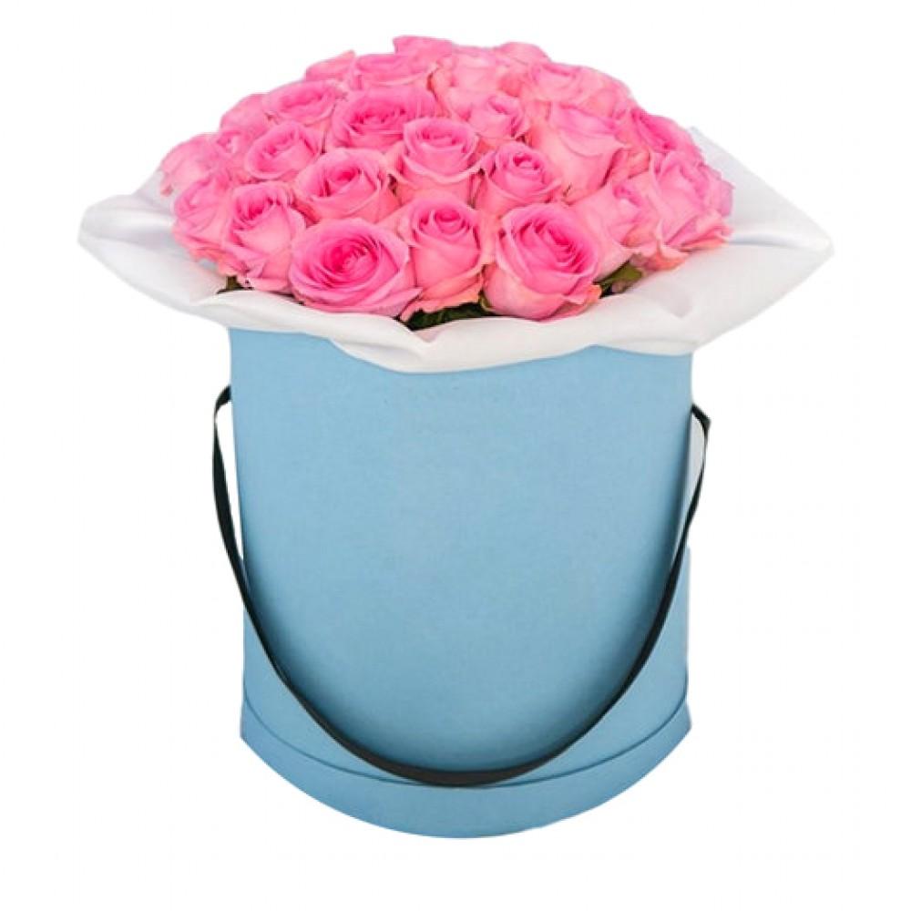 Цветы в коробке. Композиция 10