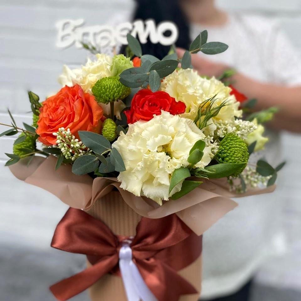 Цветы а коробке
